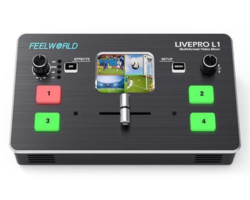 Feelworld LIVEPRO L1 Mixer video cu controler [0]