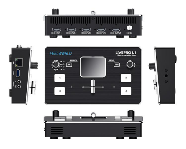 Feelworld LIVEPRO L1 Mixer video cu controler [3]