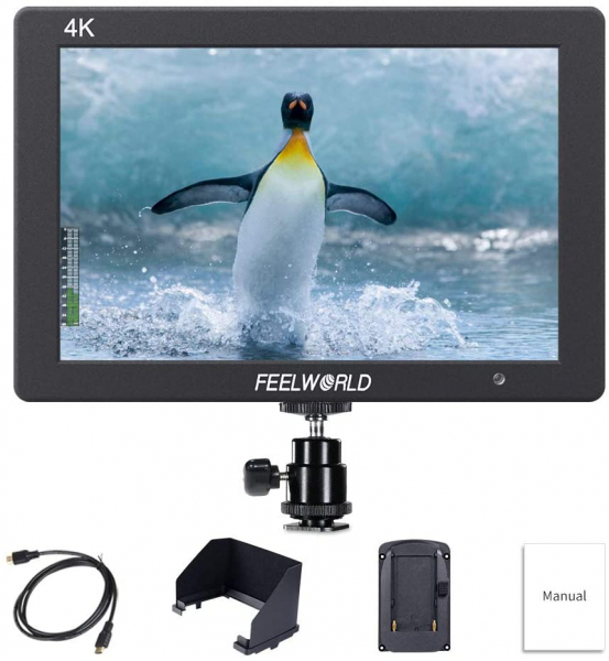 FeelWorld Monitor 7 Inch IPS 1920x1200 4K HDMI Input Output [0]