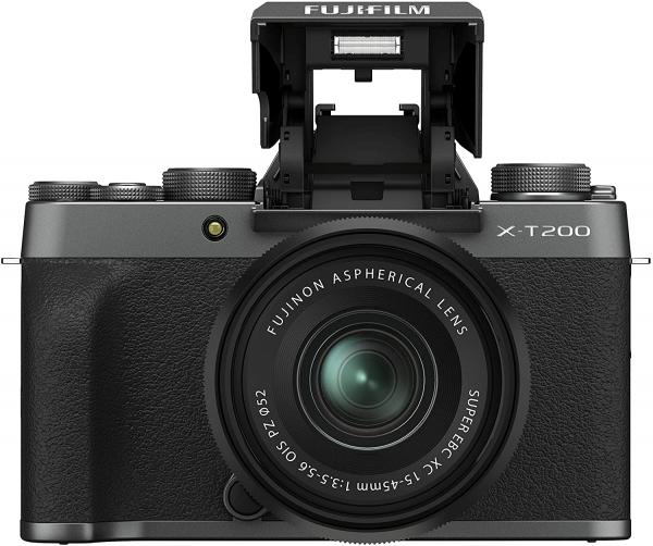 Fujifilm Aparat Foto Mirrorless X-T200 Dark Silver Kit cu obiectiv 15-45mm 2