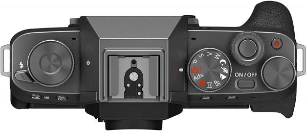 Fujifilm Aparat Foto Mirrorless X-T200 Dark Silver Kit cu obiectiv 15-45mm 4