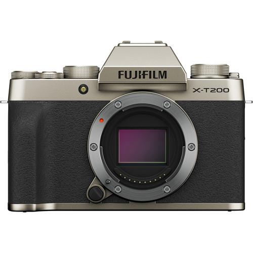 Fujifilm Aparat Foto Mirrorless X-T200 Gold Kit cu obiectiv 15-45mm 4