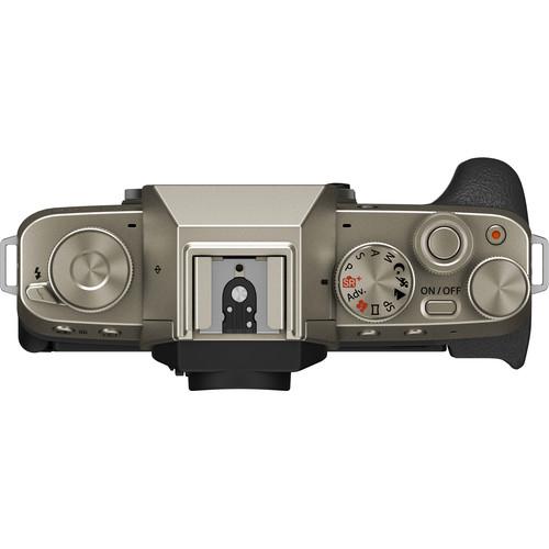 Fujifilm Aparat Foto Mirrorless X-T200 Gold Kit cu obiectiv 15-45mm 6