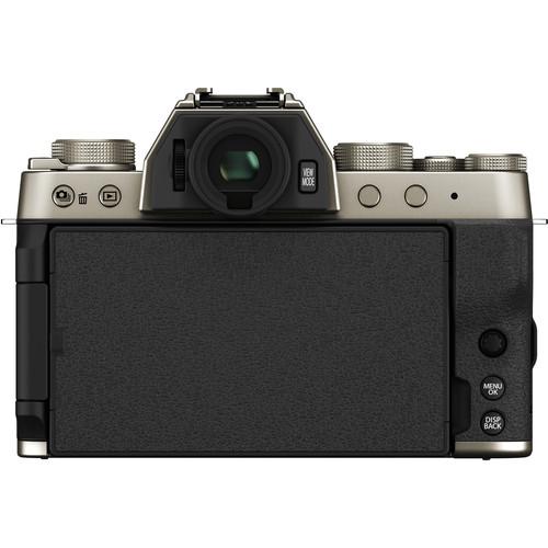 Fujifilm Aparat Foto Mirrorless X-T200 Gold Kit cu obiectiv 15-45mm 5