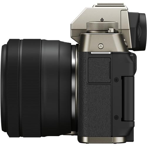 Fujifilm Aparat Foto Mirrorless X-T200 Gold Kit cu obiectiv 15-45mm 8