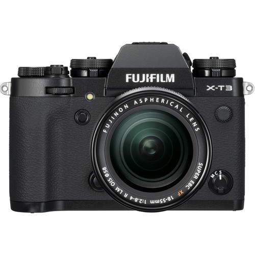 Fujifilm Aparat Foto Mirrorless X-T3 Kit cu Obiectiv Fujinon XF18-55mm f2.8-4 Negru 0