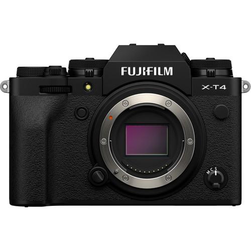 Fujifilm Aparat Foto Mirrorless X-T4 Body negru [0]