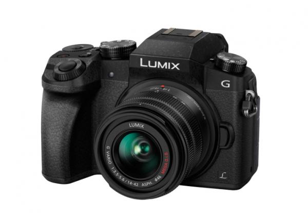 Panasonic Lumix DMC-G7 cu 14-42mm f/3.5-5.6 II MEGA OIS Aparat Foto Mirrorless 1