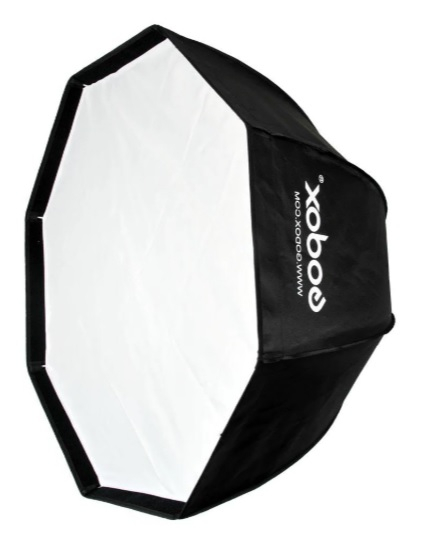 Pachet Godox AD600BM WISTRO 600W Manual All-in-One Outdoor Blitz portabil + Softbox octogonal 120cm 3