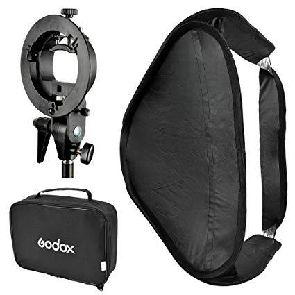 Godox Kit Softbox 80 x 80cm cu adaptor S2 [0]