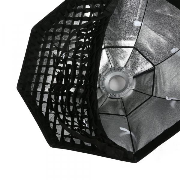 Godox Octobox cu grid montura Bowens 120 cm 2