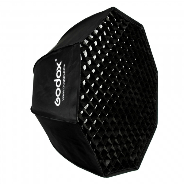 Godox Octobox cu grid montura Bowens 120 cm 0
