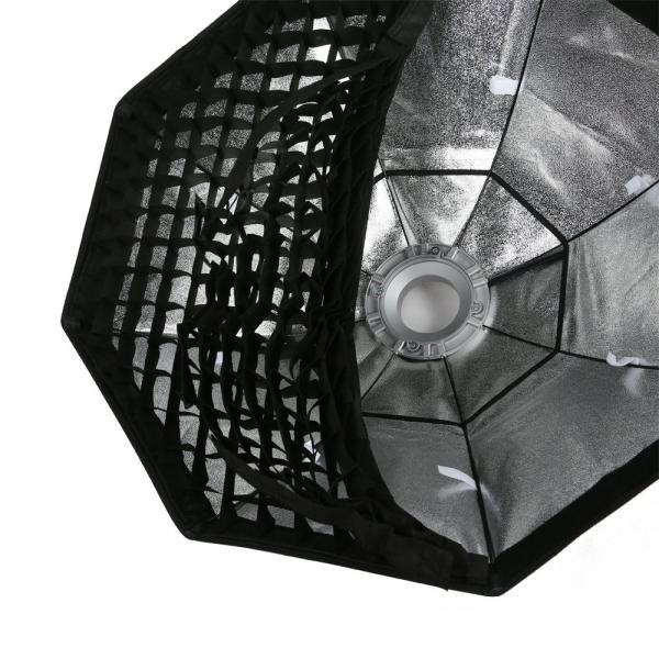Godox Octobox cu grid Montura Bowens 140 cm 2