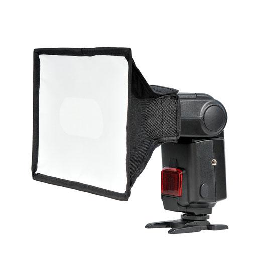 Pachet Godox Mini TT350N Blitz TTL dedicat Nikon + Softbox [1]