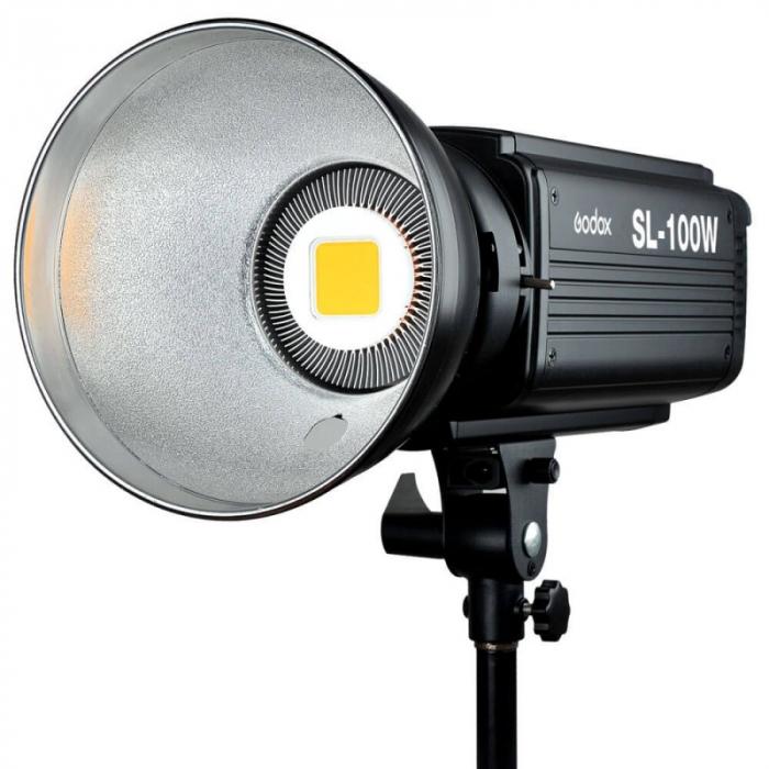 Godox SL-100W Lampa LED 5600K 100W cu softbox 60x60cm 0