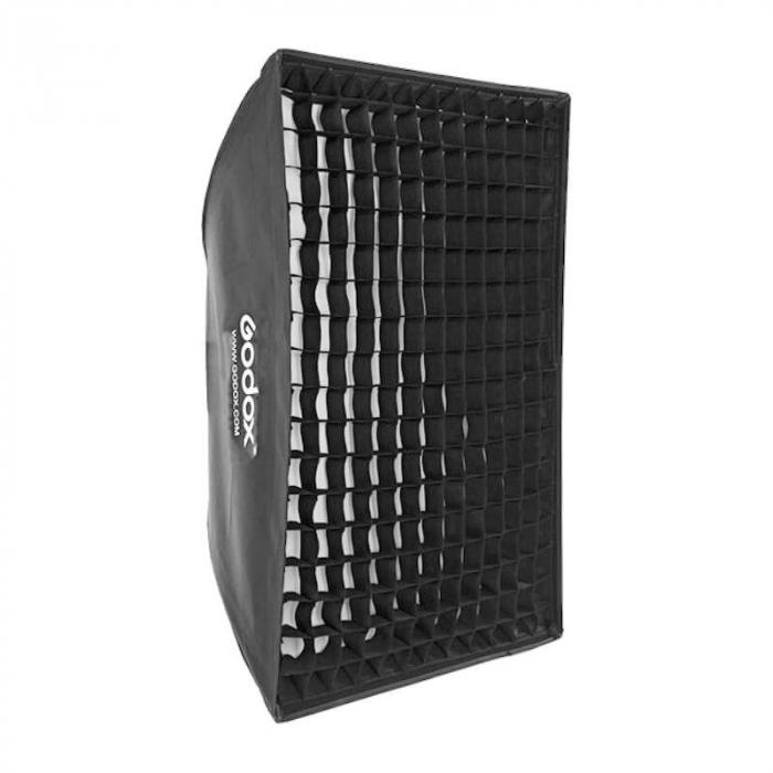 Godox Softbox tip umbrela pliabil montura Bowens 60x60cm [0]