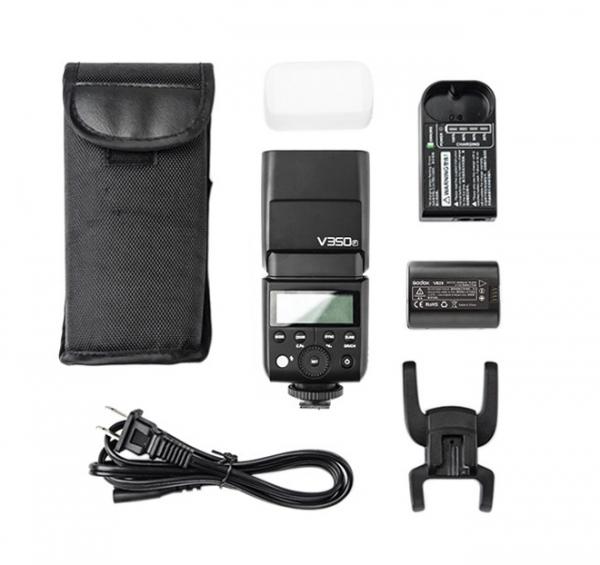 Pachet Godox Ving V350C Blitz TTL pentru Canon+Softbox 15x20cm 0