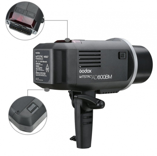 Godox AD600BM Witstro Manual All-in-One Outdoor Flash Blit 600Ws 7