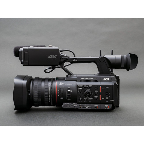 JVC Camera live streaming GY-HC550 4K 1