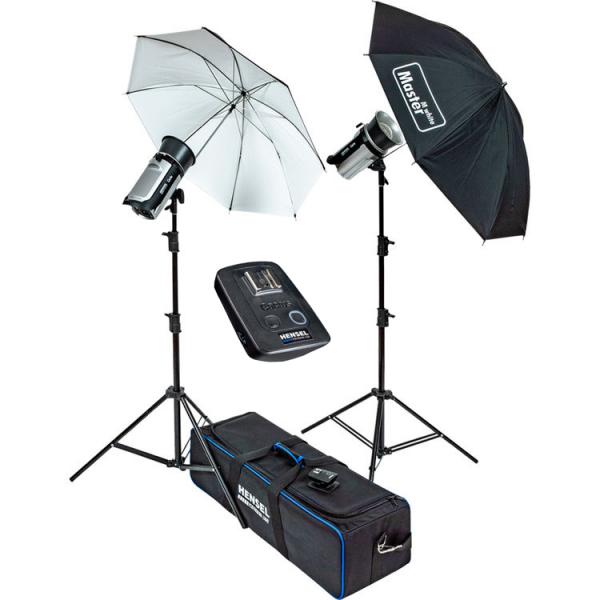 Pachet Hensel Kit de blitz-uri 2xCERTO 400+Hensel Softbox 60x80cm [0]