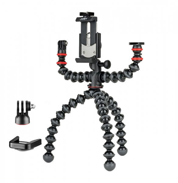 Joby GorillaPod Mobile Rig Kit Vloging pentru smartphone 7