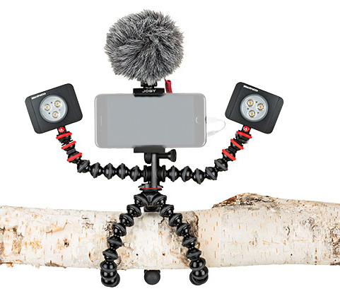 Joby GorillaPod Mobile Rig Kit Vloging pentru smartphone 0