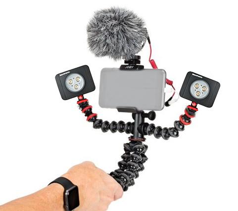 Joby GorillaPod Mobile Rig Kit Vloging pentru smartphone 2