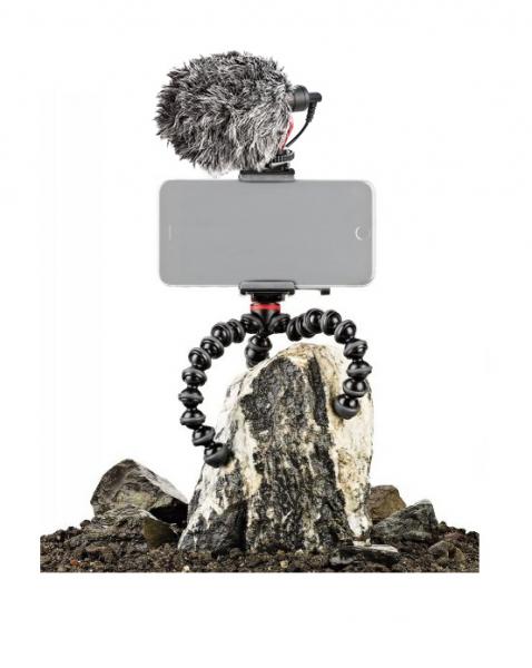 Joby GripTight Action Kit minitrepied flexibil cu telecomanda si microfon 1