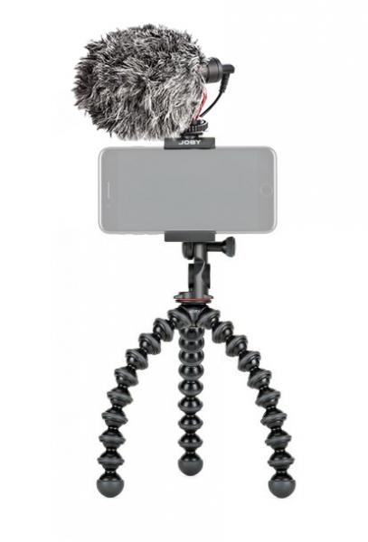 Joby GripTight PRO 2 GorillaPod Minitrepied flexibil pentru smartphone cu microfon 0