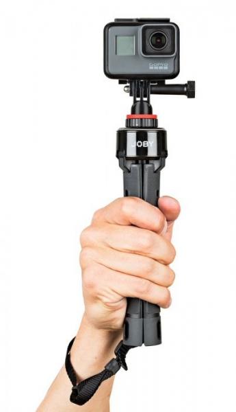 Joby GripTight PRO TelePod Minitrepied telescopic cu telecomanda si microfon 4