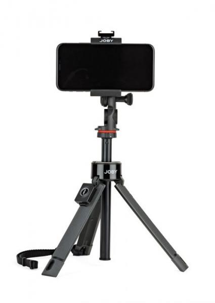Joby GripTight PRO TelePod Minitrepied telescopic cu telecomanda si microfon 3