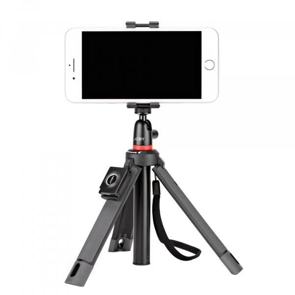 Joby TelePod Mobile Minitrepied telescopic pentru smartphone cu telecomanda si lavaliera 4