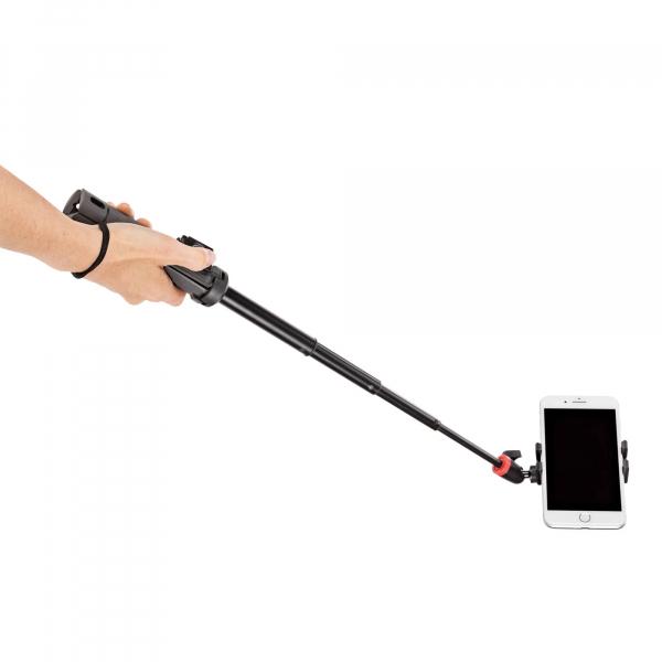 Joby TelePod Mobile Minitrepied telescopic pentru smartphone cu telecomanda si lavaliera 6