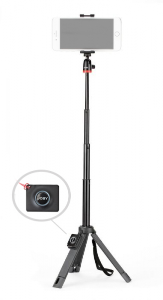 Joby TelePod Mobile Minitrepied telescopic pentru smartphone cu telecomanda 0