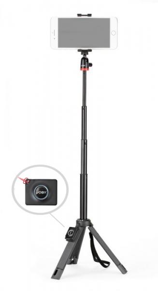 Joby TelePod Mobile Minitrepied telescopic pentru smartphone cu telecomanda si lavaliera 1