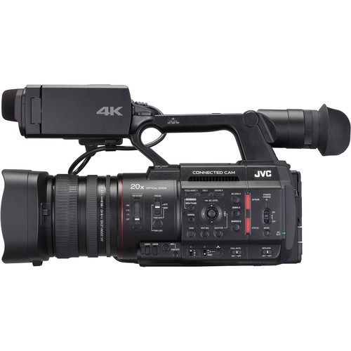 JVC Camera live streaming GY-HC500 4K 5
