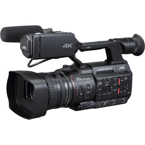 JVC Camera live streaming GY-HC500 4K 2