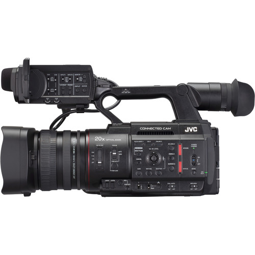 JVC Camera live streaming GY-HC500 4K 6