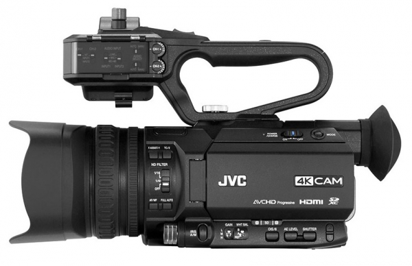JVC Camera video 4K Live Streaming Sport