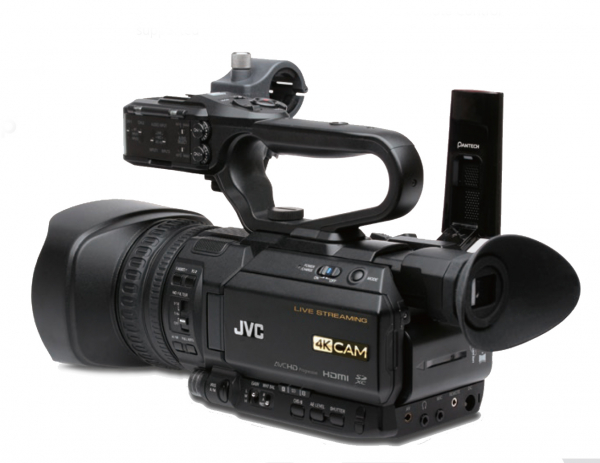 JVC GY-HM250E camera video 4K Live Streaming 0