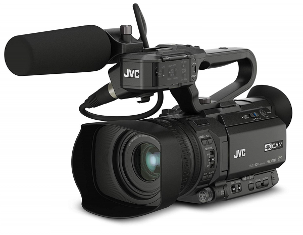 JVC GY-HM250E camera video 4K Live Streaming 3