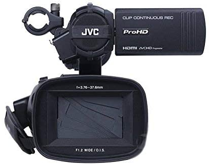 JVC JY-HM360E ProHD Camera video handheld open box 4