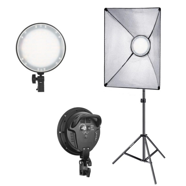 Kit 2 Lampi Lumina Continua Bicolor 2700-5600K 1