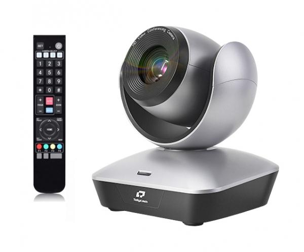 Kit Videochat PTZ Full HD Zoom 22X USB 2.0 cu lavaliera wireless si trepied [1]