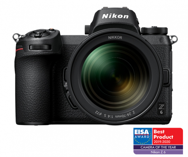 Kit Nikon Z6 Aparat Foto Mirrorless 24.5MP + Obiectiv Nikkor Z 24-70mm f4 S 0