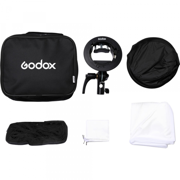 Godox Kit Softbox 80 x 80cm cu adaptor S2 [3]