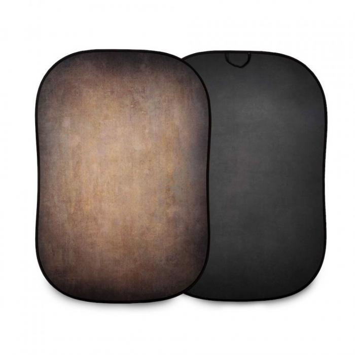 Lasolite Fundal portabil Walnut/Pewter 1.5 x 2.1m 0