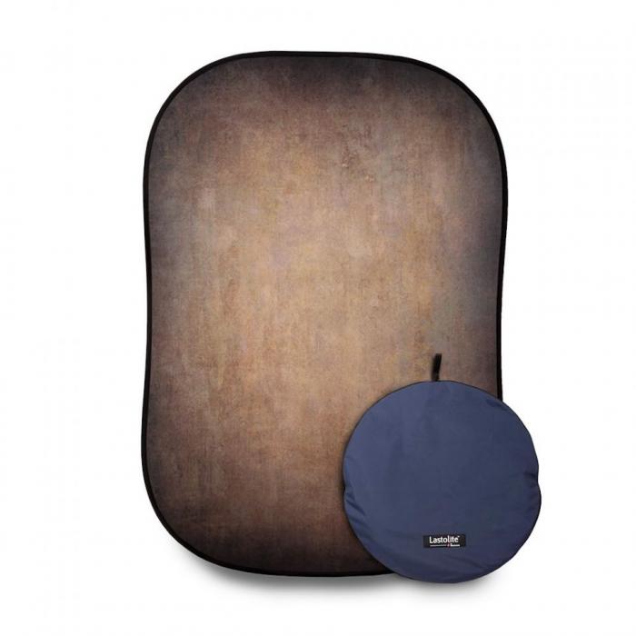 Lasolite Fundal portabil Walnut/Pewter 1.5 x 2.1m 11