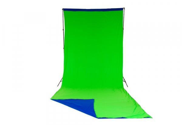 Lastolite fundal Chroma Key verde/albastru 3x7m 2