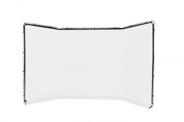 Lastolite Fundal alb panoramic cu rama inclusa 4x2.30m [0]